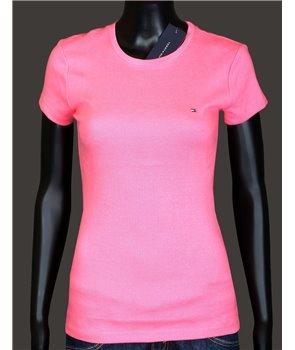 Tommy Hilfiger dámské tričko 468690 růžové