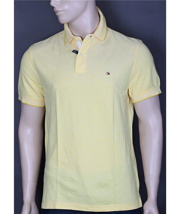 Tommy Hilfiger pánské polo tričko Custom Fit solid 247.874