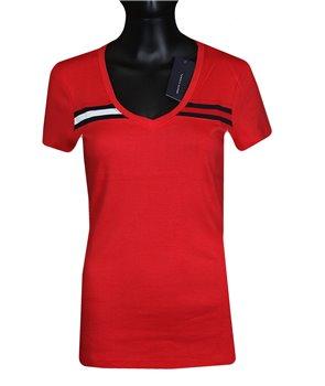 Tommy Hilfiger dámské tričko v-neck 541615