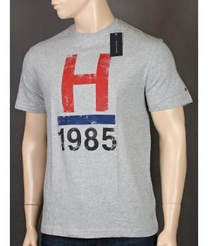 Tommy Hilfiger pánské tričko 732004 šedé