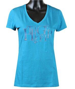 Tommy Hilfiger dámské tričko v-neck 154475