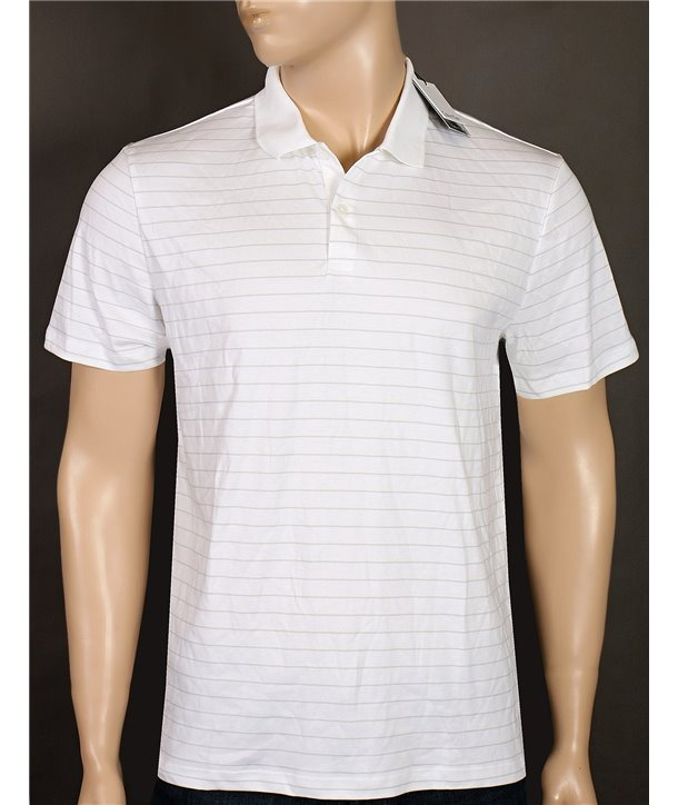 Calvin Klein pánské polo Classic Fit tričko J045K modré