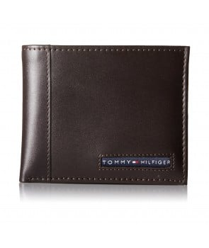 Tommy Hilfiger Men's Cambridge Passcase Wallet brw