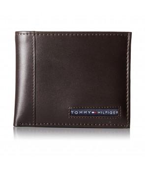 Tommy Hilfiger Men's Cambridge Passcase Wallet brw