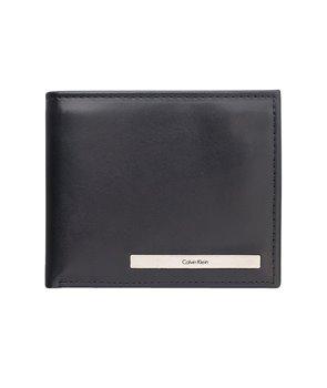Calvin Klein pánská kožená peněženka Bifold černá