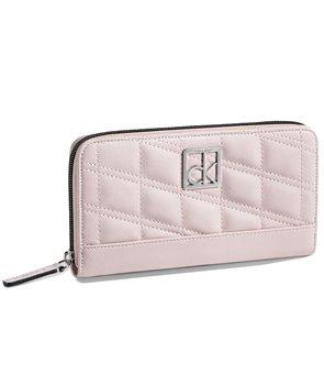 Calvin Klein dámská peněženka Kora Zip Continental béžová