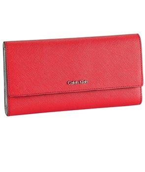 Calvin Klein dámská peněženka Galey Saffiano Continetal