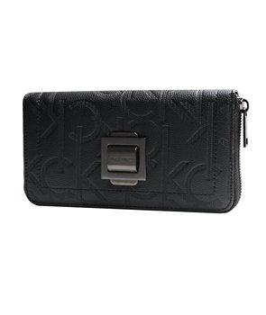 Calvin Klein dámská peněženka Parker Zip béžová