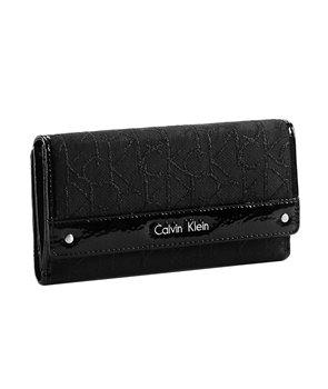 Calvin Klein dámská peněženka Nadina Mega Flap černá