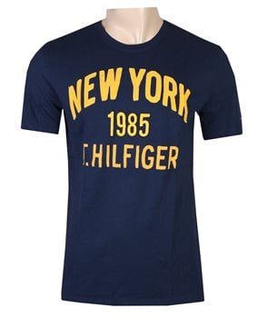 Tommy Hilfiger pánské tričko NYC modré