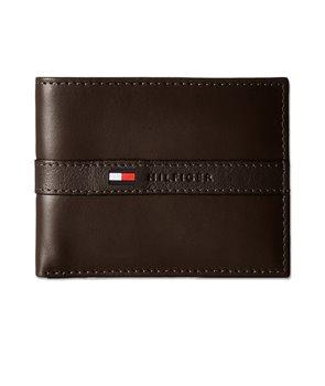 Tommy Hilfiger pánská peněženka Ranger Passcase brown