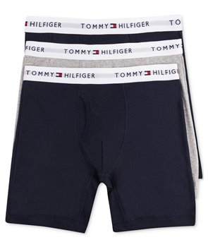 Tommy Hilfiger trenýrky boxerky 3 kusy pack 119544