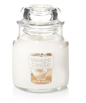 Yankee candle svíčka Spiced White Cocoa malá