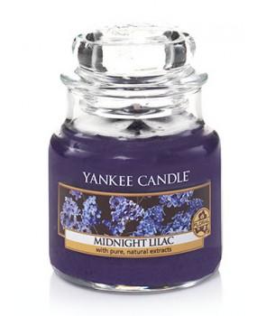 Yankee candle svíčka Midnight Lilac šeřík malá