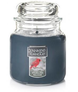 Yankee candle Classic svíčka Sparkling Balsam střední 411g