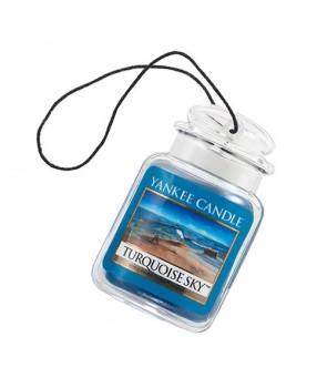 Yankee candle vůně do auta Turquoise Sky - luxusní visačka