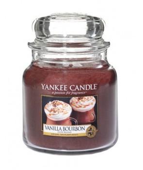 Yankee candle Classic svíčka Vanilla Bourbon střední 411g