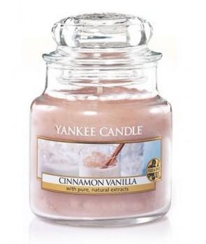 Yankee candle Classic svíčka Cinnamon Vanilla střední 411g