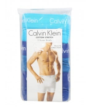 Calvin Klein 3 trenýrky boxerky Classic Fit Cotton Stretch 3 kusy 925