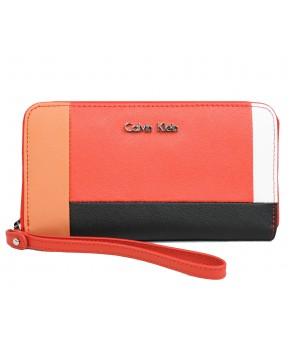 Calvin Klein dámská peněženka Hazen Zip Continental multi
