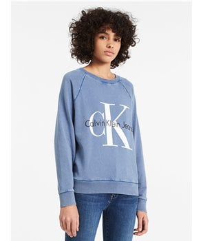 Calvin Klein dámská mikina FADED VINTAGE LOGO