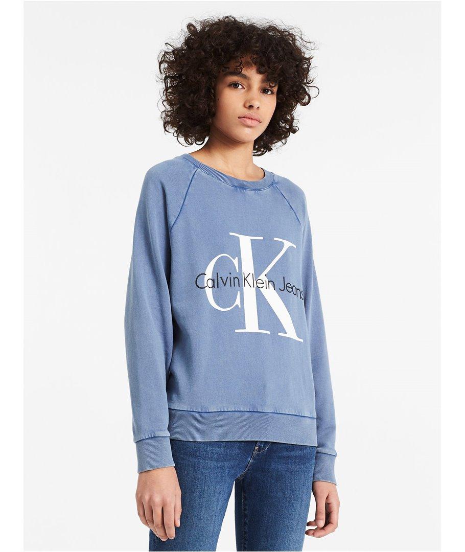 a072d4c20 Calvin Klein dámská mikina Faded Vintage Logo 42AK963 - usafashion.cz
