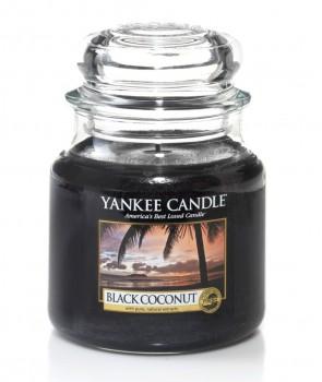Yankee candle Classic svíčka Black Coconut střední 411g