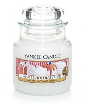 Yankee candle Classic svíčka White Chocolate Apple střední 411g