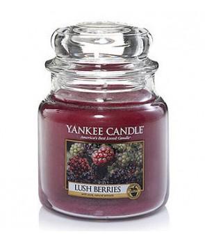 Yankee candle Classic svíčka White Lush Berries střední 411g