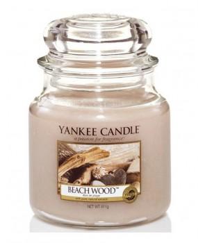Yankee candle Classic svíčka Beach Wood střední 411g