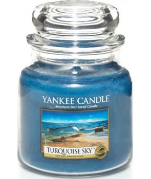 Yankee candle Classic svíčka Turquoise Sky střední 411g