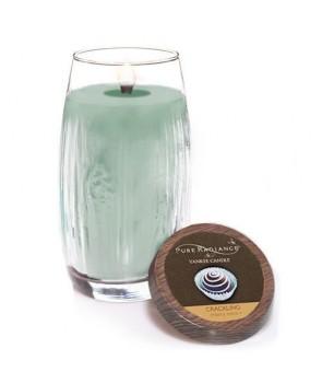 Yankee candle svíčka Pure Radiance Merry Mint velká 623g