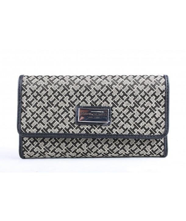 Tommy Hilfiger dámská peněženka fold jacquard