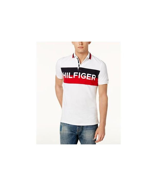 Tommy Hilfiger pánské polo tričko Stretch 760112 - usafashion.cz d0b15c3cb27