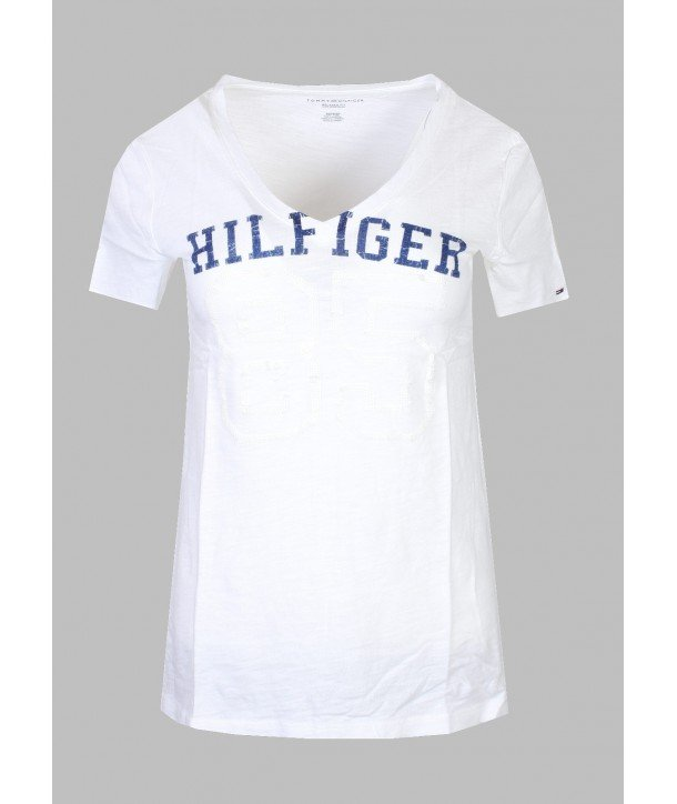 3c3a9f67fb Tommy Hilfiger dámské tričko s poštovným Zdarma
