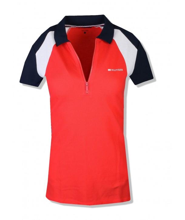 Tommy Hilfiger sport dámské polo tričko zip 808816