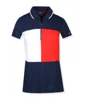 Tommy Hilfiger sport dámské polo tričko zip 791475