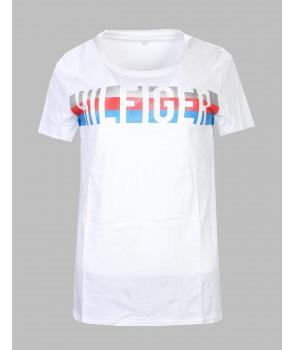 Tommy Hilfiger dámské tričko 157112 Relaxed Fit