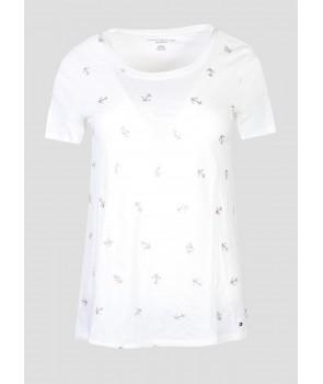 Tommy Hilfiger dámské tričko 842118 Relaxed Fit