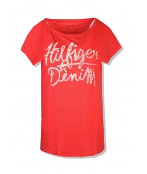 Tommy Hilfiger dámské tričko 603619 Relaxed Fit