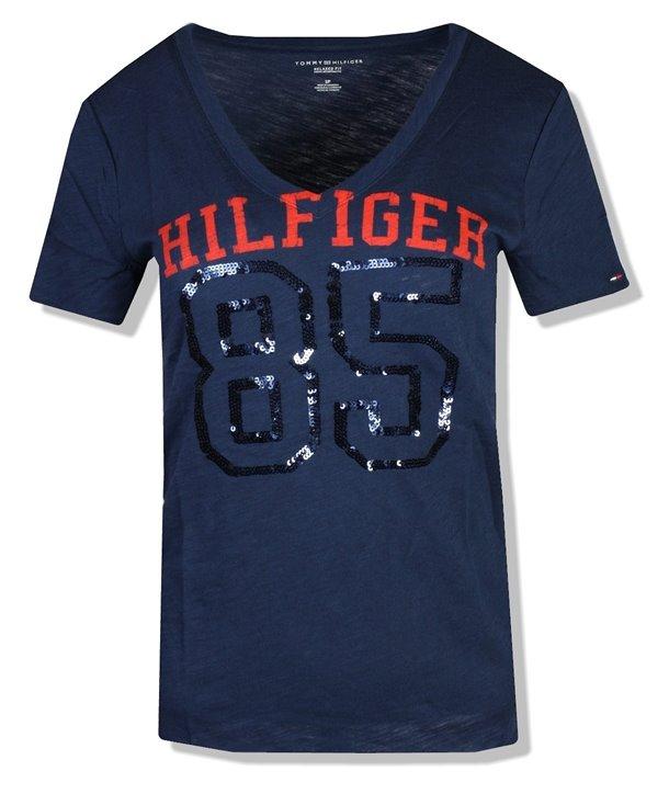 Tommy Hilfiger dámské tričko 225475 Relaxed Fit