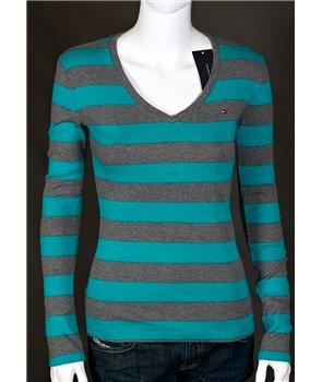 Tommy Hilfiger dámské tričko s dlouhým rukávem 738439