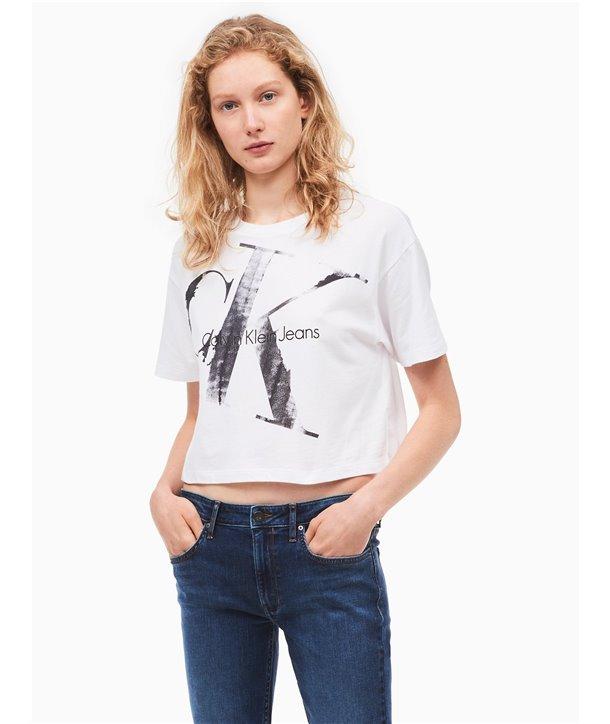 bec162582ac7 Calvin Klein dámské tričko 42F5300 bílé