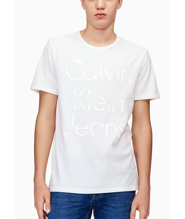Calvin Klein pánské tričko 41H5068 bílé