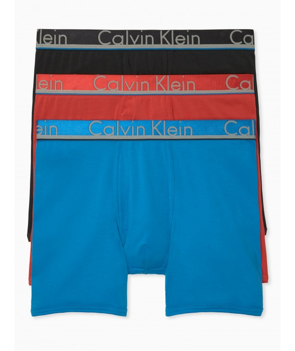 Calvin Klein 3 trenýrky boxerky Comofrt Microfiber 916