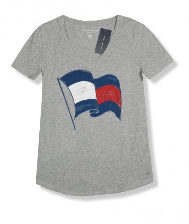 Tommy Hilfiger dámské tričko Relaxed Fit 861038
