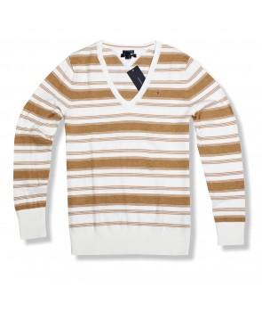 Tommy Hilfiger dámský svetr s pruhy 496276