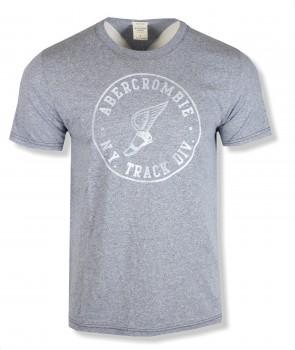 Abercrombie & Fitch pánské tričko modré 0070023