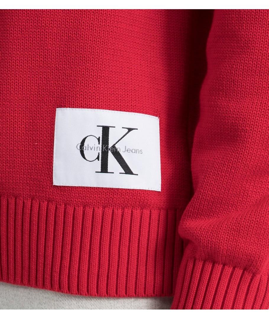 Calvin Klein pánský svetr 2345695 červený - usafashion.cz 2e197c3e5a