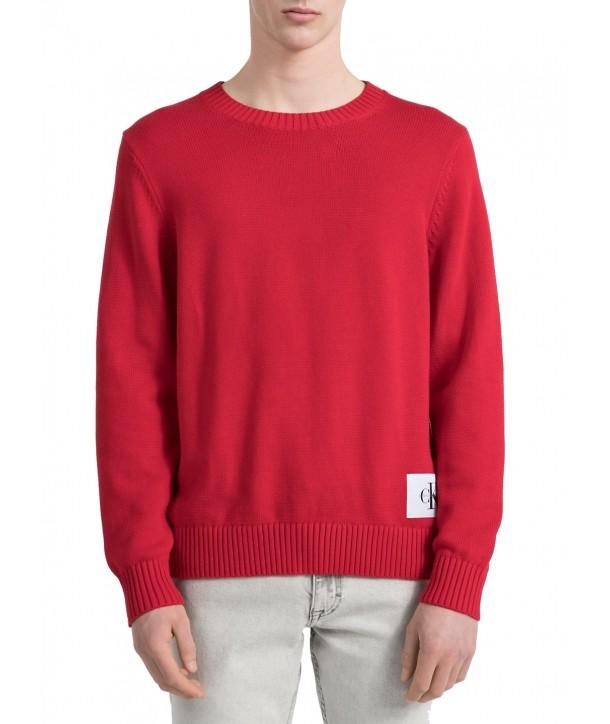 Calvin Klein pánský svetr 2345695 červený 4040fb76a9